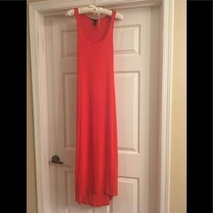 Coral maxi dress from H&M - xs
